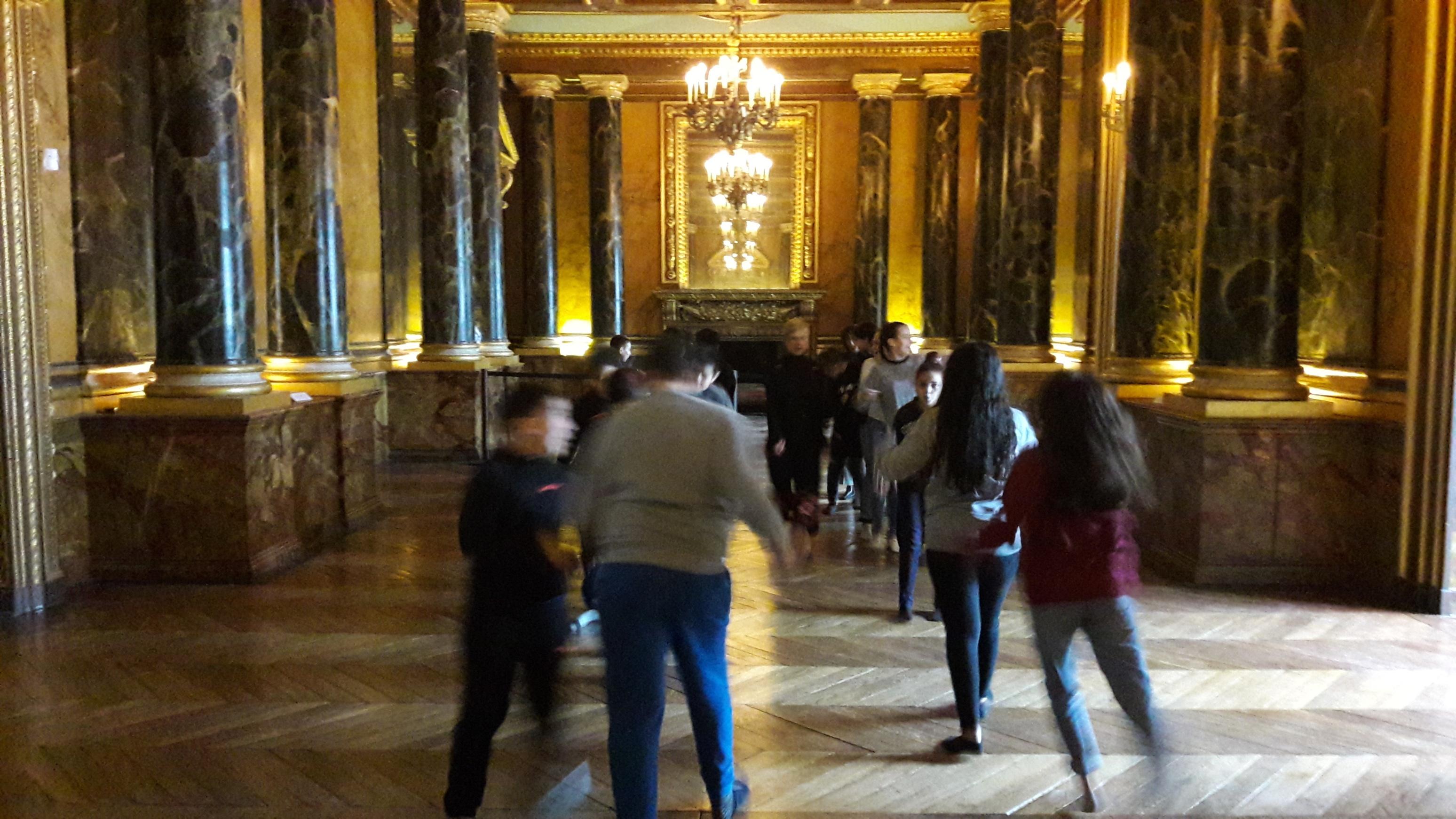 Danse au château de Fontainebleau – classe de 6e1