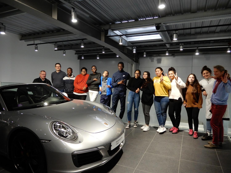sortie Porsche